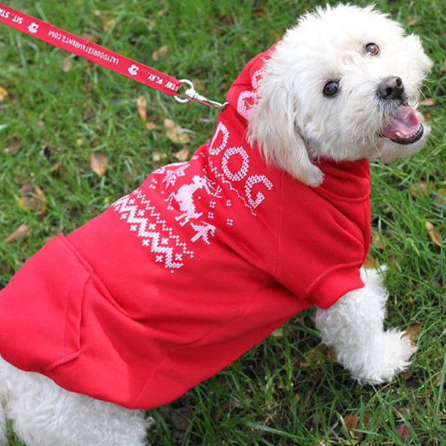 Canine Ugly Christmas Hoodie