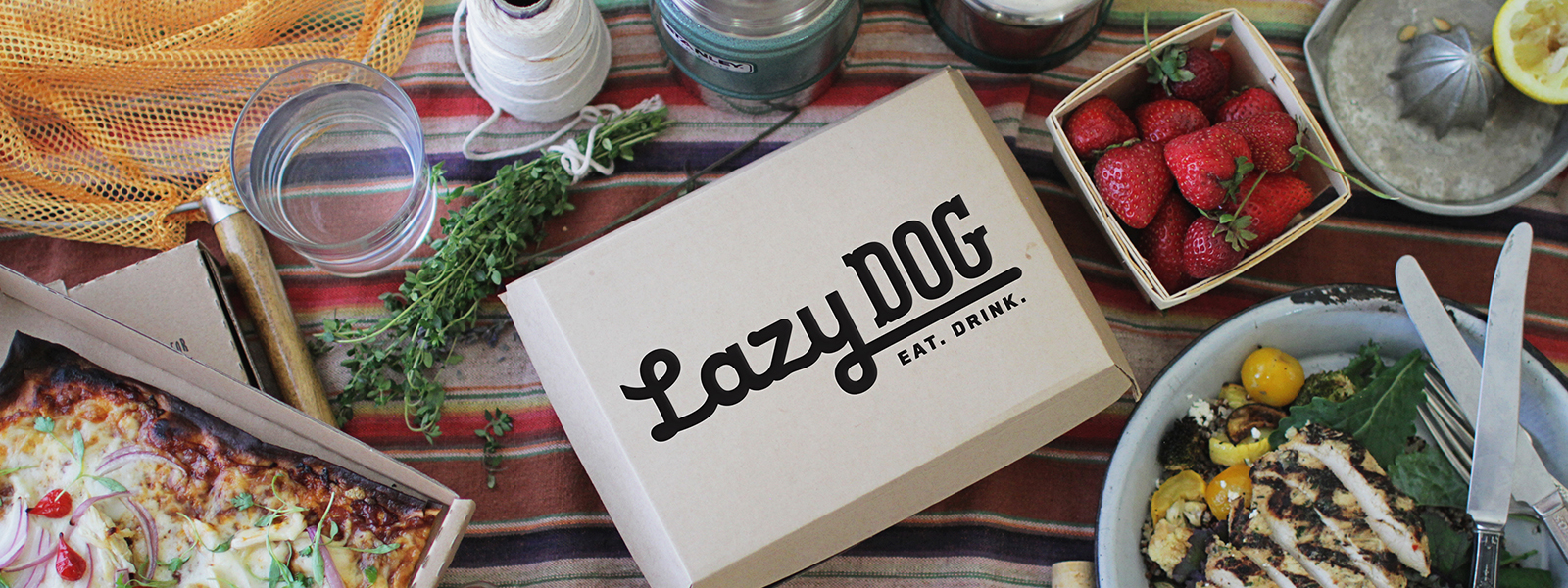 Order Food - Lazy Dog Box