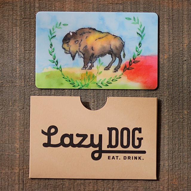 dog gift card