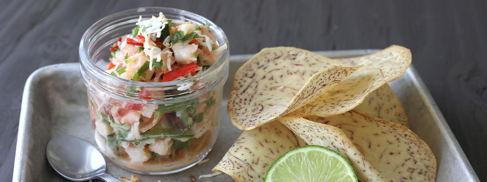RECIPE: Coconut Shrimp Ceviche