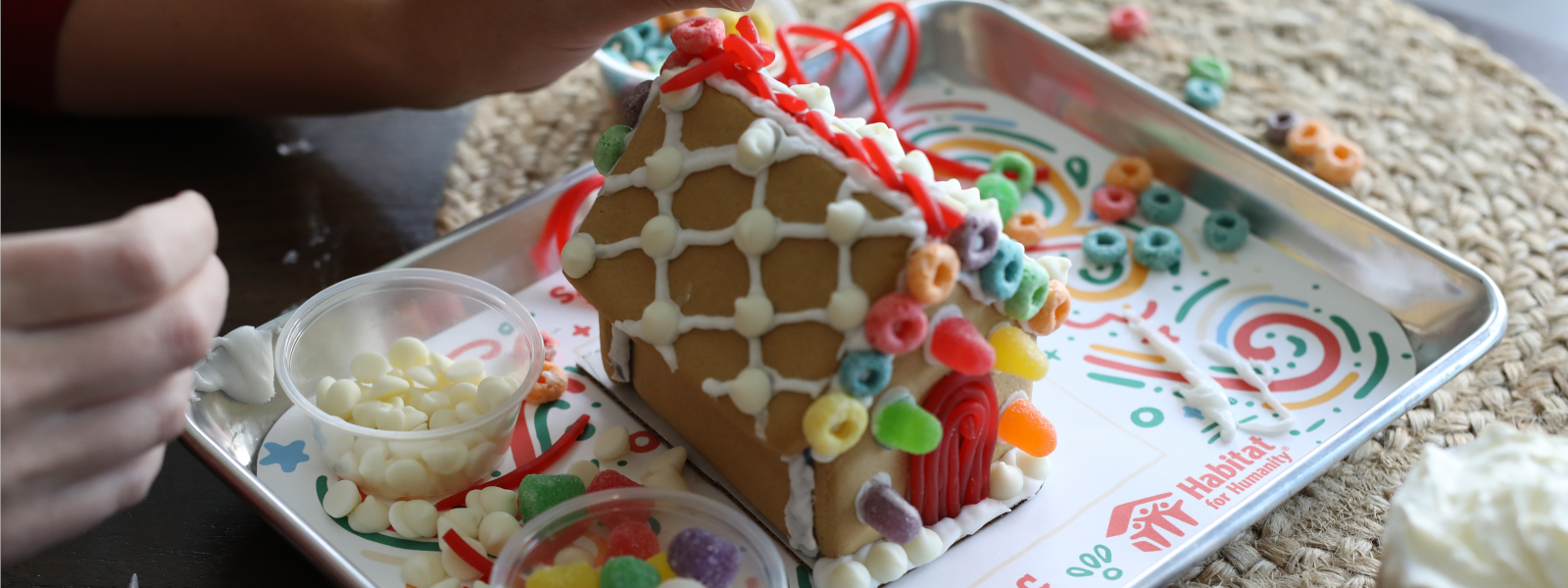 Habitat for Humanity Gingerbread House
