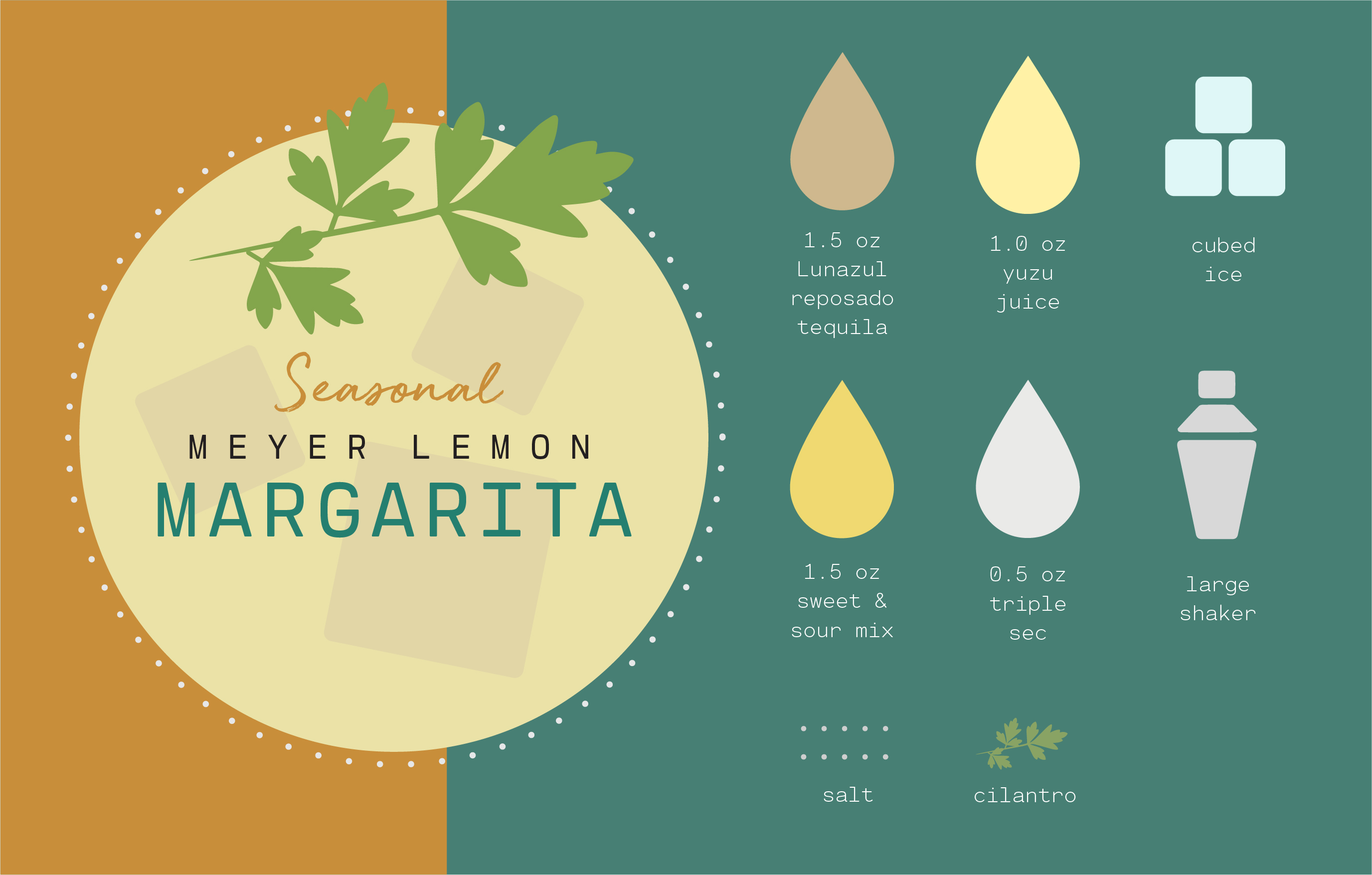Meyer Lemon Margarita recipe image
