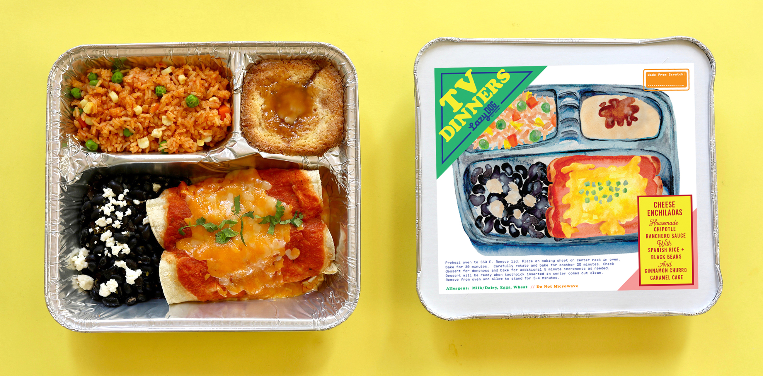 TV Dinners - Enchiladas