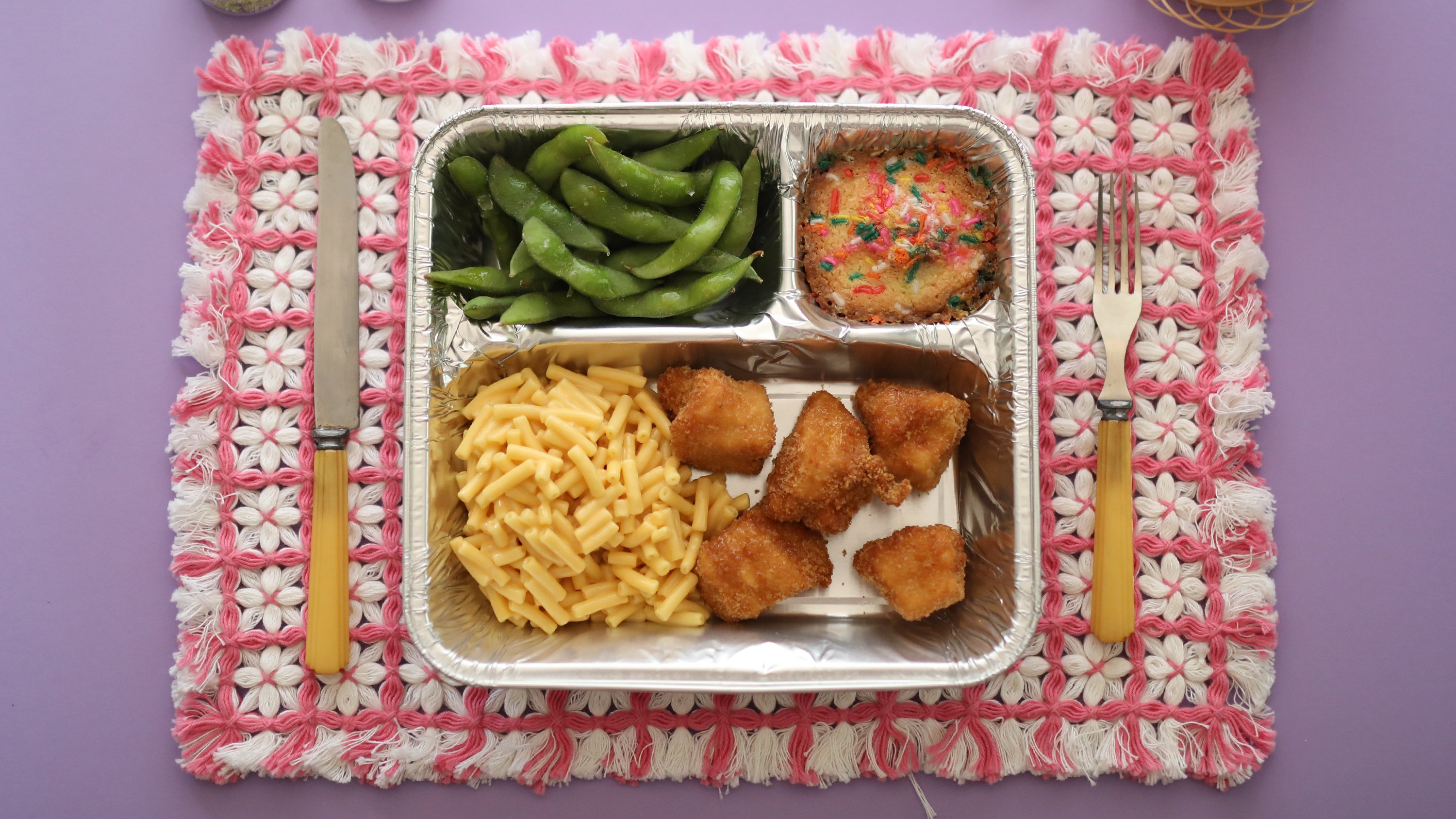 tv dinner chicken nuggets