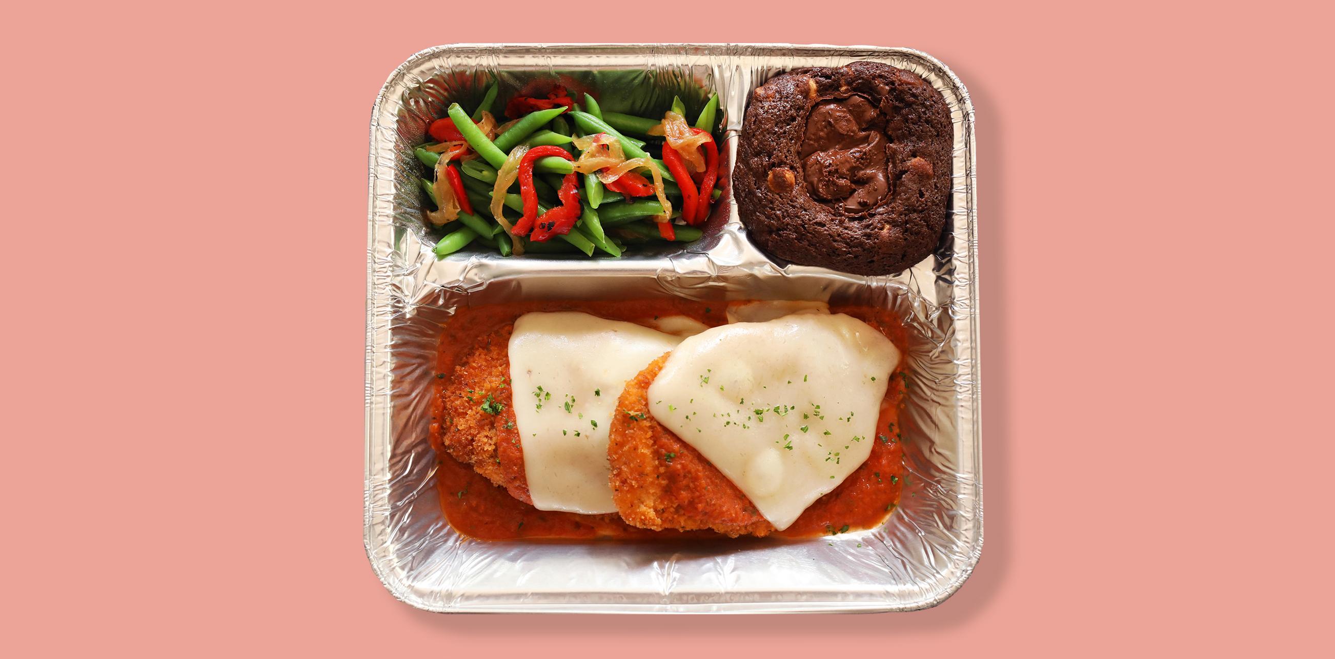 chicken parmesan tv dinner