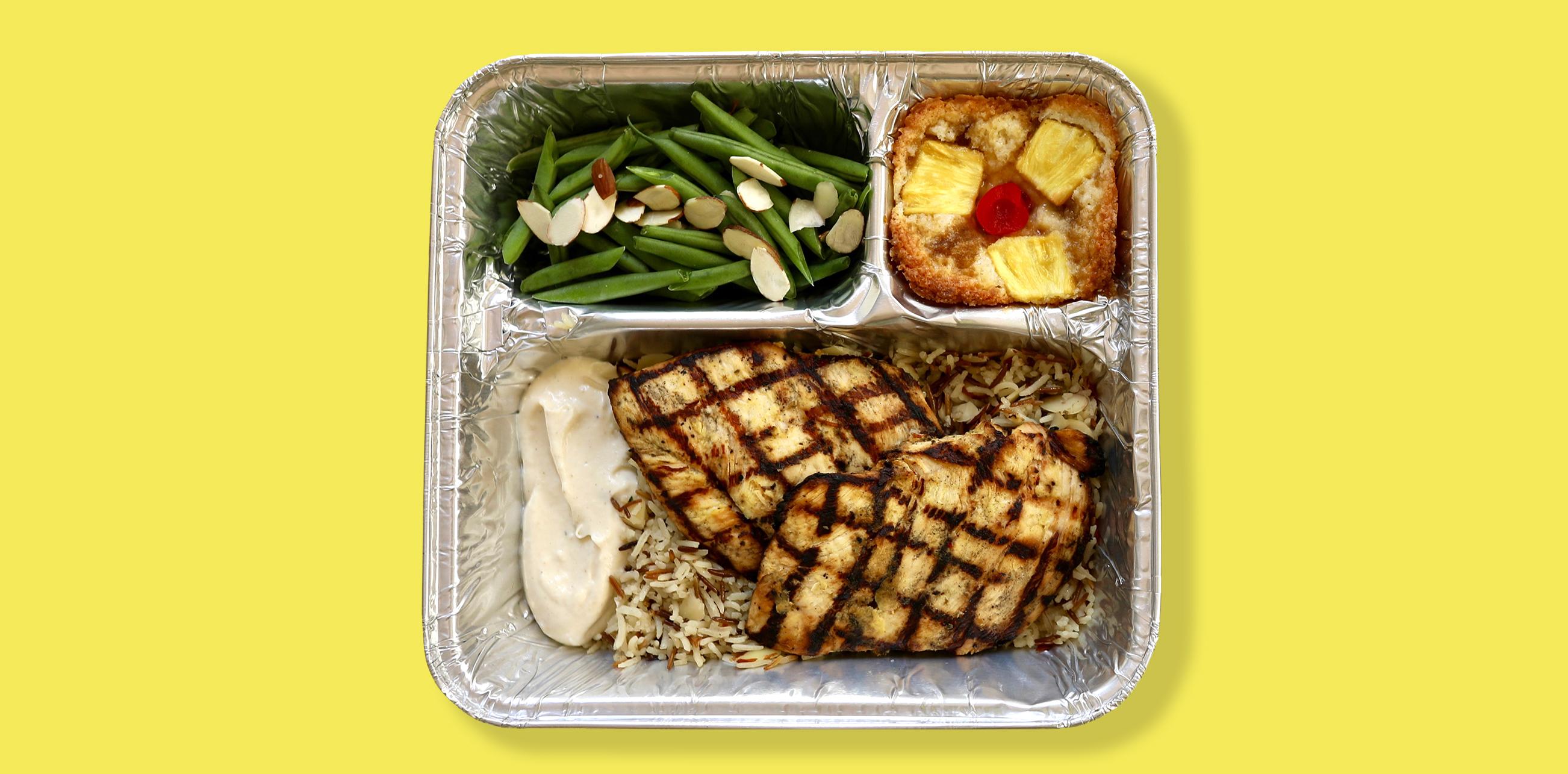 TV Dinners - Grilled Lemon Chicken