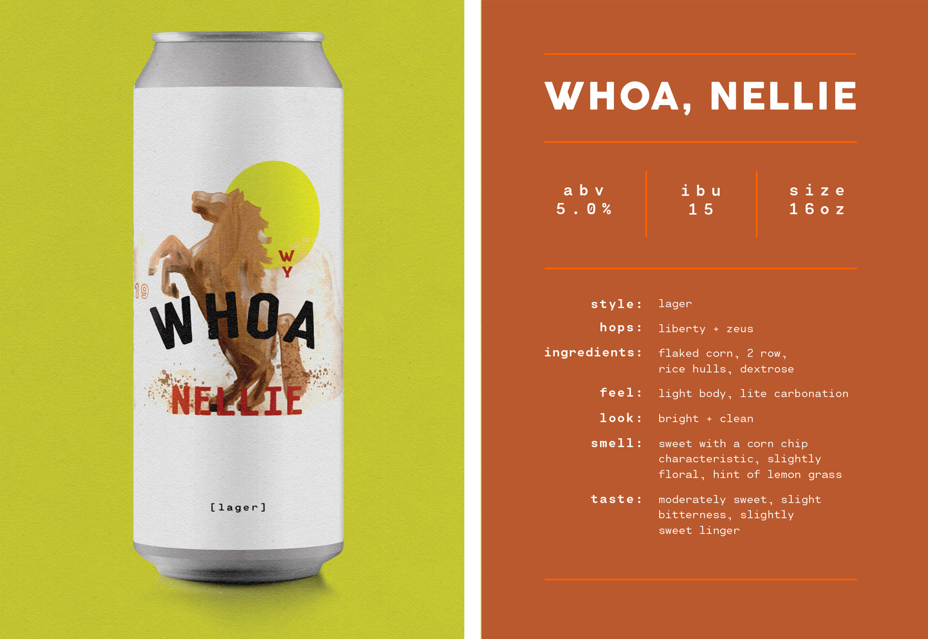 Whoa Nellie Mexican Style Lager